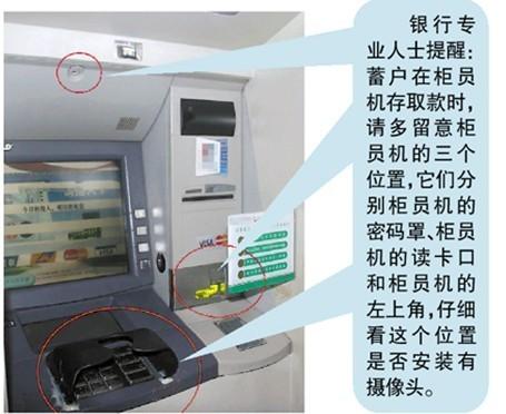 储户ATM机上存款2万元被盗 律师称银行应负全责