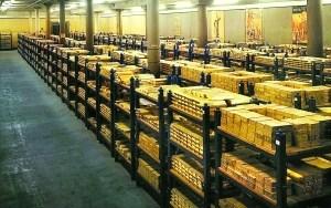 走进伦敦地下金库:钥匙长达1米 藏金4600吨(图)