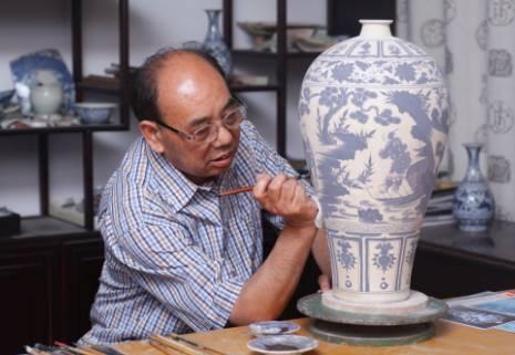中国古陶瓷工艺美术大师黄云鹏