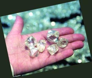 俄罗斯超大钻石矿隐瞒了30年 硬度是普通钻石两倍