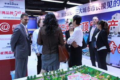 世贸通直击北京房展会 收获颇丰