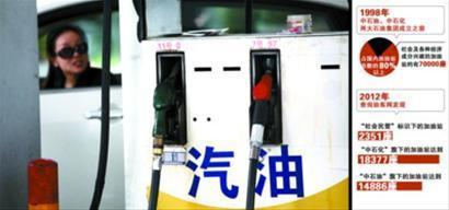 民营加油站倒闭近九成 中石油中石化被指疯狂吞噬