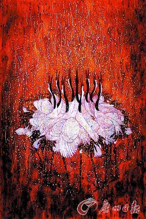 漆画跻身海外当代艺术主流:一幅作品5万美元