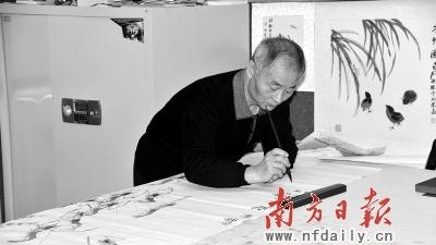 齐白石嫡孙齐育文:中国画一辈子也学不完的