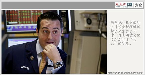 黄金投资者面临哀伤四段:愤怒、讨价、抑郁和接受