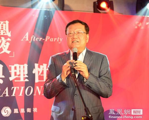 刘长乐:因为雅安汶川 大家把慈善推到非常重要的高度