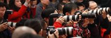 现场摄影记者
