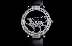 腕上斗艳的钻石腕表(组图)