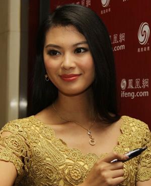 2012新晋世界小姐于文霞