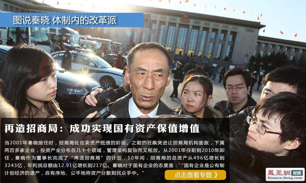 2013陆家嘴金融论坛,图说秦晓