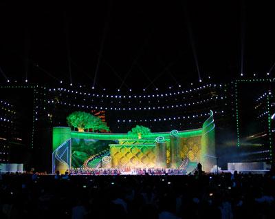 南宁国际民歌艺术节舞台