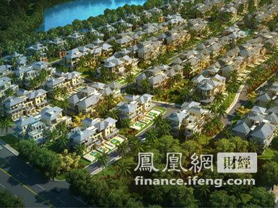 鲁能城360度全景:三亚湾新城鸟瞰图_财经_凤凰网