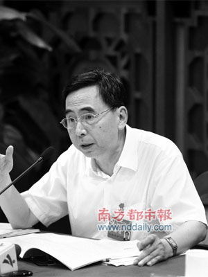 朱小丹:权力制约要从政府做起