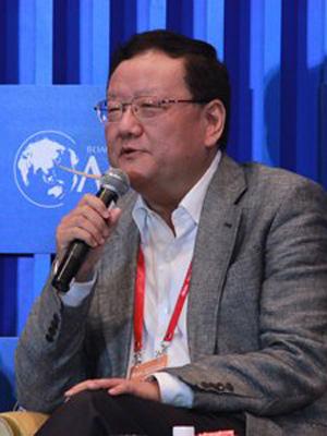图文 凤凰卫视董事局主席 行政总裁刘长乐太平绅士