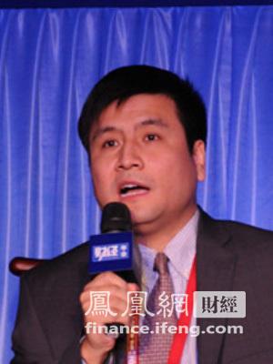 图:华锐风电高级副总裁、首席财务官陶刚