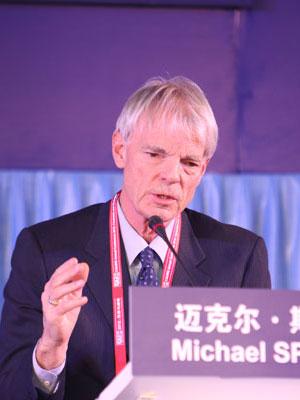 诺贝尔经济学奖得主迈克尔•斯宾塞