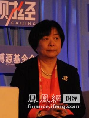 图:财政经济委员会副主任委员吴晓灵