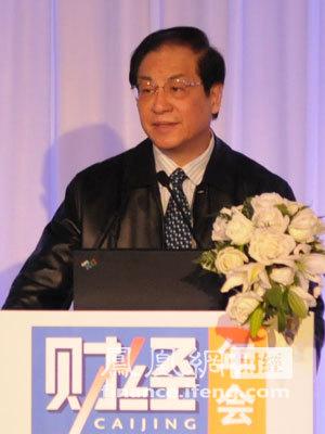 图文:中国银监会主席刘明康