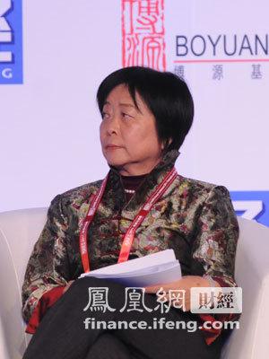 图文:全国人民代表大会财政经济委员会副主任委员吴晓灵