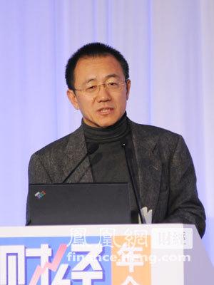 图文:中国投资有限责任公司副董事长、总经理高西庆