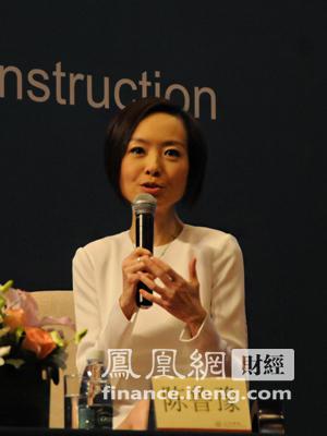 图:凤凰卫视主持人陈鲁豫