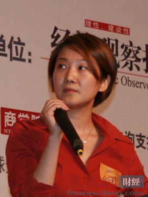 图文:凤凰新媒体市场与公关部总监罗笛演讲