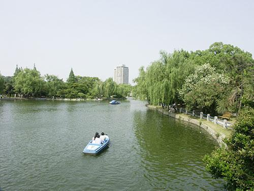 上海公园泛舟地图