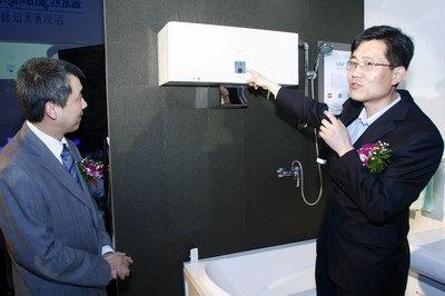 新一代电热水器震撼上市 海尔热水器剑指高端