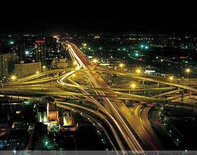 北京立交桥夜景_北京市投资2360万元打造五桥一街夜景_财经_凤凰网
