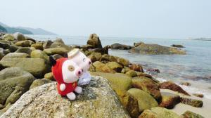 故事 麦兜/麦兜、麦唛也喜欢看海天一色。