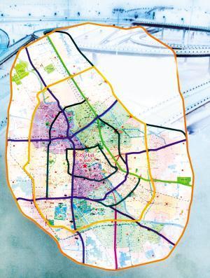 重庆六纵线规划图