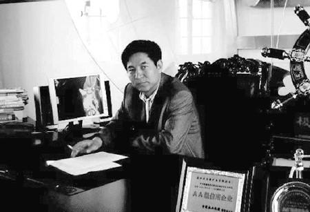 安徽大昌矿业集团董事长吉立昌(资料片)-贫困县6亿元巨资奖励企业
