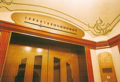 日立电梯图片