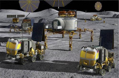 揭秘美未来月球基地:4名宇航员可呆半年(9)