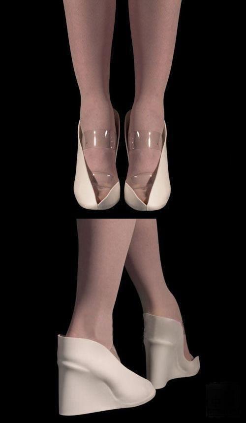奢华高跟鞋与折纸的艺术碰撞(2)_财经_凤凰网