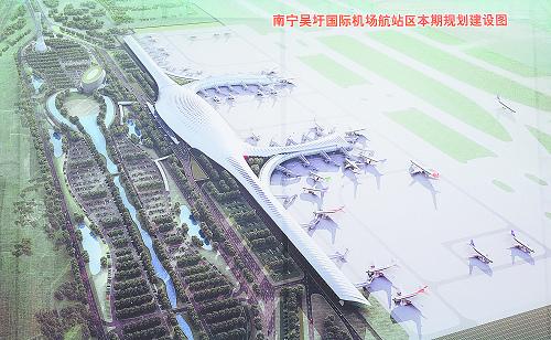 南宁机场新航站楼2012年使用