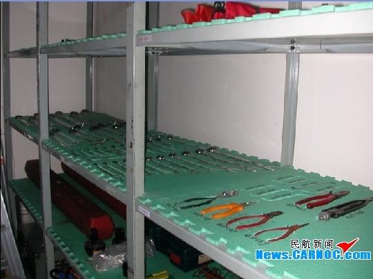 国航贵阳维修基地工具形迹管理取得显著成效