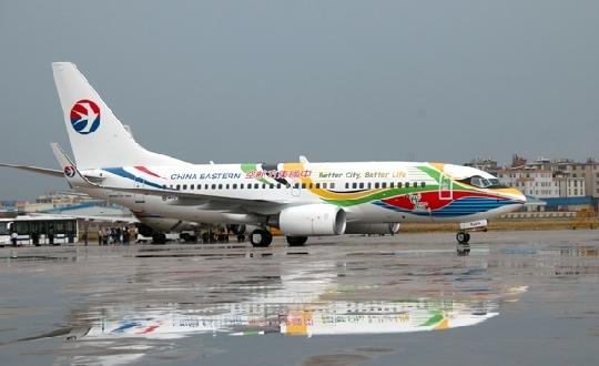 东航云南分公司波音737-700型b-5265号飞机