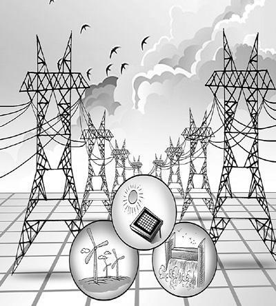 漫画由人民图片提供 今年上半年,全国用电量继续保持去年下半年以来的快速增长势头,增速甚至超过两成。据国家能源局发布的数据显示,15月份,全国全社会用电量为16575亿千瓦时,同比增长23.31%。 面对上半年电力的高速增长数据,人们的心情已经开始发生微妙变化。去年,用电量增长无疑是绝对的好消息,因为它增强着人们对经济回暖的信心。