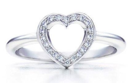 设计 tiffany/Tiffany Hearts,每款都是由世界最优质的美钻镶嵌而成,系列中...
