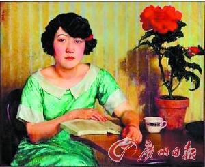 徐悲鸿/徐悲鸿的《蒋碧薇画像》 图片来源:广州日报