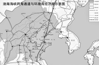 从烟台到大连的直线距离大约是170km