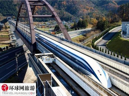 日本的磁悬浮列车创下了时速581
