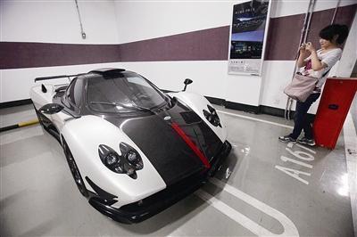 最贵跑车藏身cbd 每辆价值3000多万元高清图片