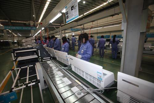 邯郸工业园的建成,2011年,美的家用空调将实现总产能将达到3300万套
