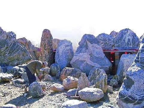 细沙石头纹理素材