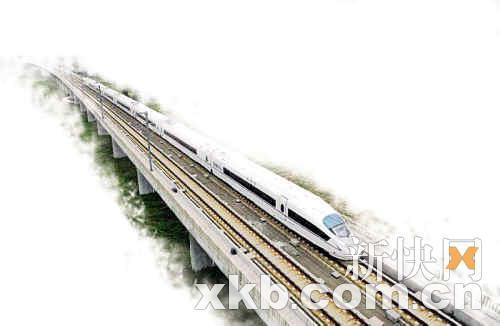 网传沪穗高铁线路图 全程只需7小时36分