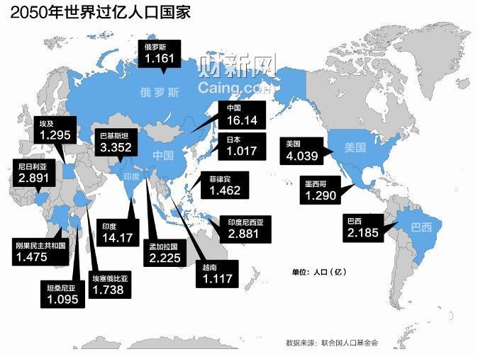 世界人口10月将破70亿 增十亿仅用12年