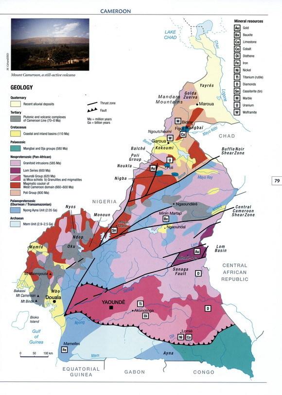 资料来源:《图说非洲·喀麦隆卷