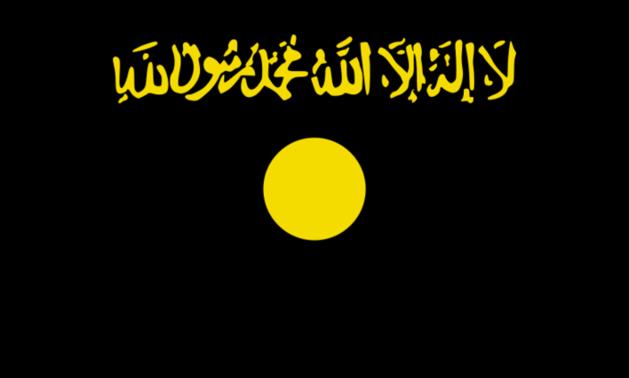利比亚班加西法院楼顶升基地组织旗帜